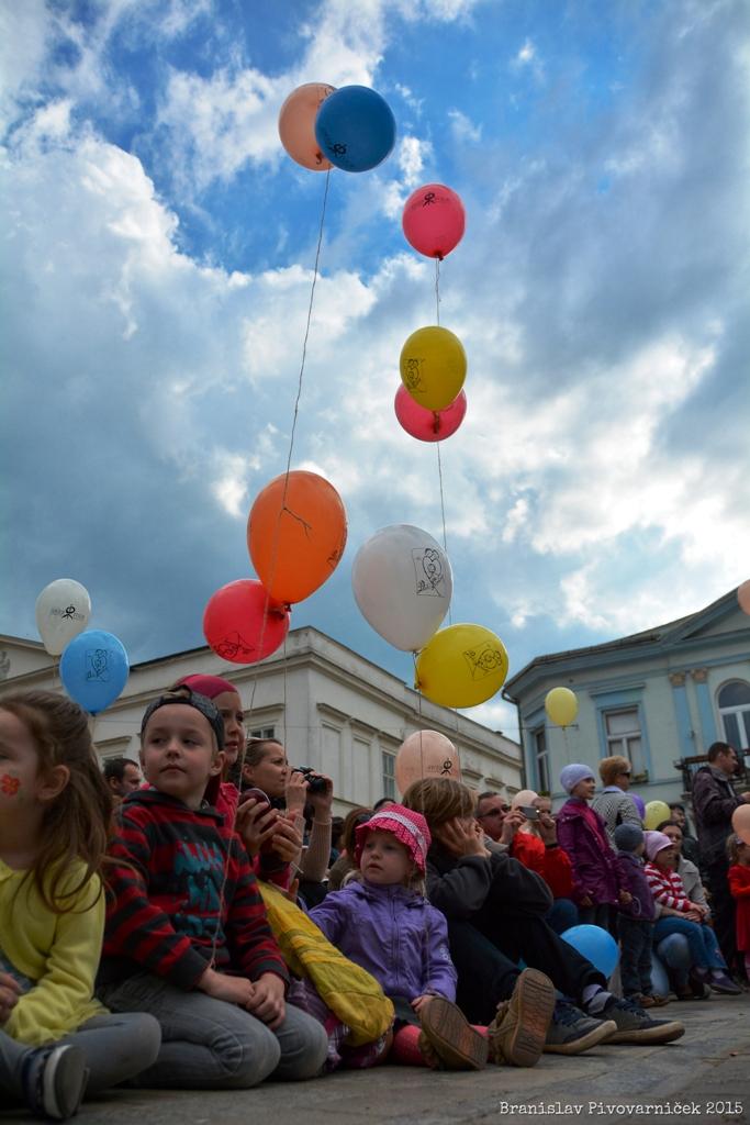 Na Dni rodiny v Košiciach sa postavili rodičia s deťmi verejne za hodnotu rodiny