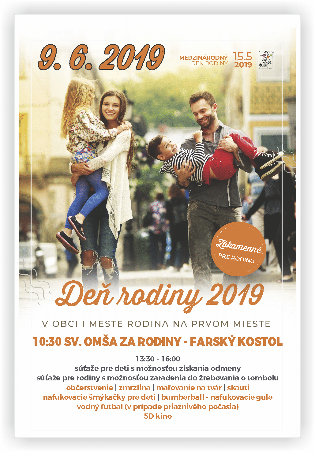 plagát Deň rodiny