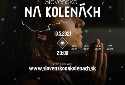 """Modlitebná iniciatíva """"SLOVENSKO NA KOLENÁCH"""""""