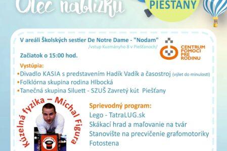 Deň rodiny oslávia aj v Piešťanoch